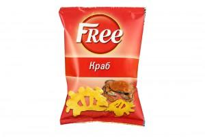 Чипсы Free Краб