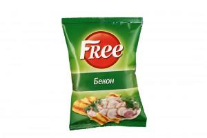 Чипсы Free Бекон