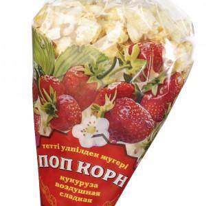 Поп-корн со вкусом клубники